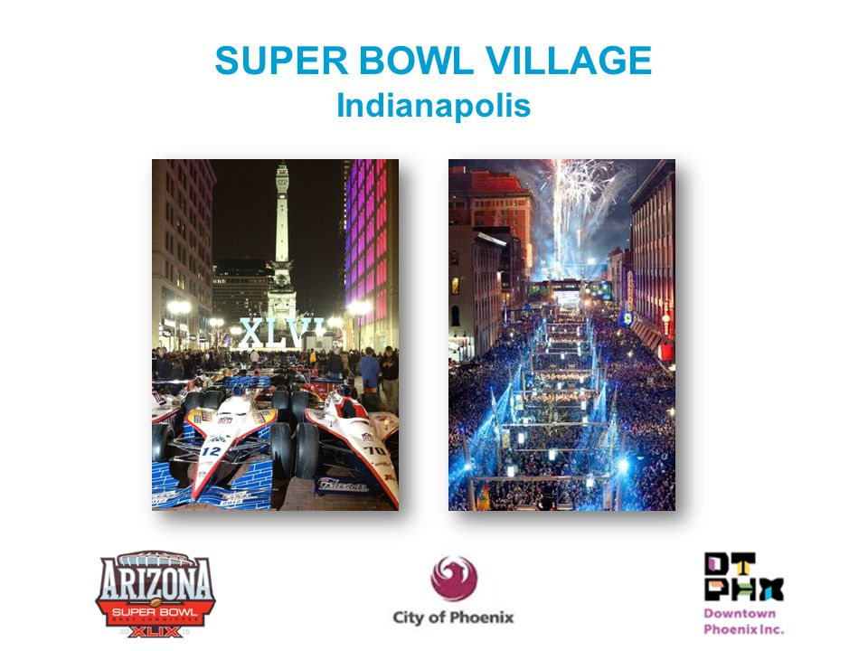 SUPER BOWL VILLAGE Indianapolis