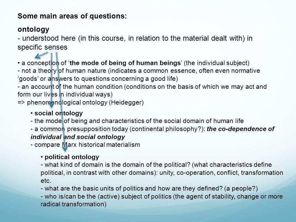 Phenomenological ontology (Heidegger) - orig.