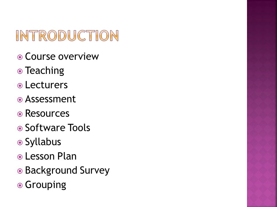 Week 4Lesson Plan 12/3 Session 4a Reflection for Lab work from Session 3b via results presentation by selected groups Group Presentation on Survey paper for MACs for other wireless networks 13/3 Session 4b Continue Group Presentation on Survey paper for MACs for other wireless networks.