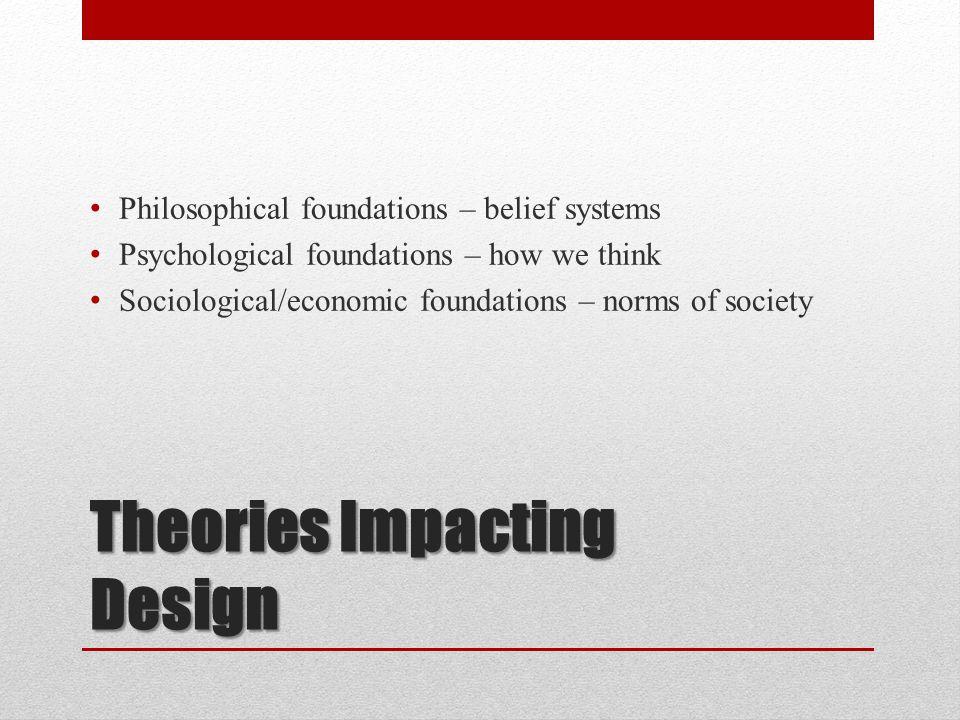 Philosophical, Psychological, Sociological?