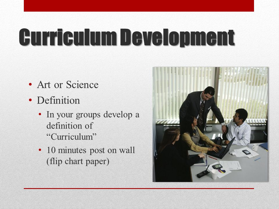 Standardization Vision 2000 – focused at college level education in Ontario Balancing college curriculum – general education, generic skills and specific vocational skills set of intentions in the classroom product or set of outcomes process or set of experiences