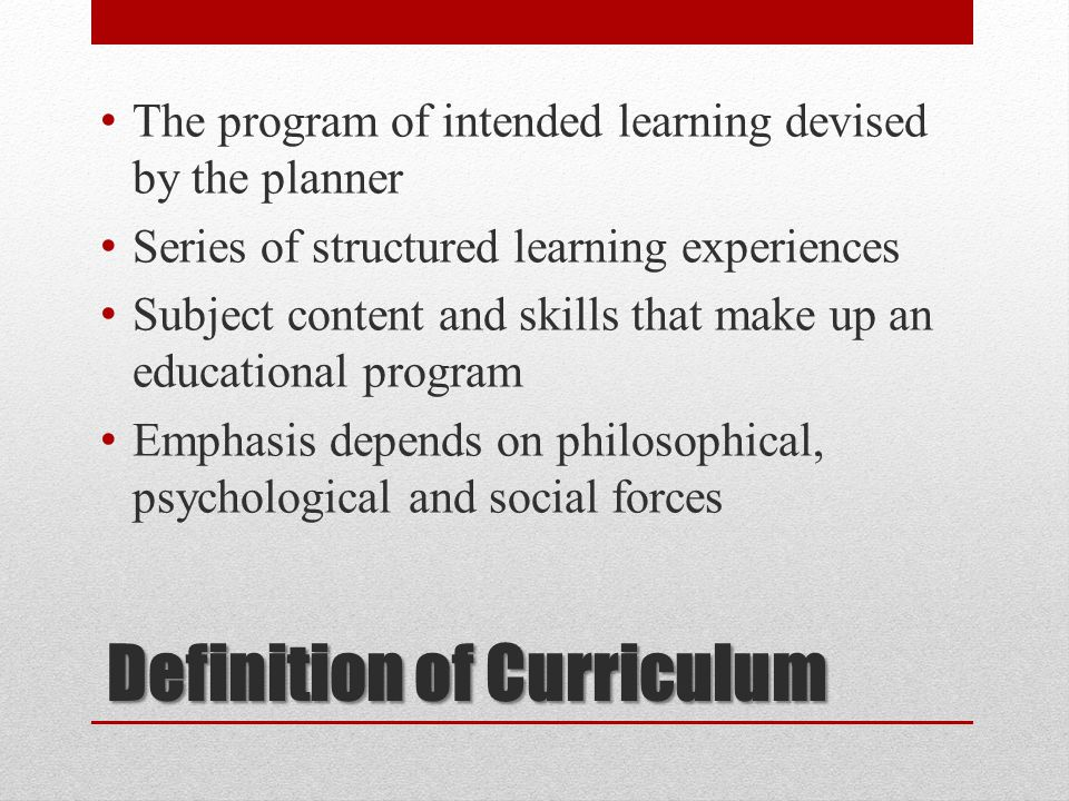 Definition Curriculum design is the process of formulating a specific educational platform that defines the beliefs of what should be in the curriculum (Henderson & Hawthorne, 1995)