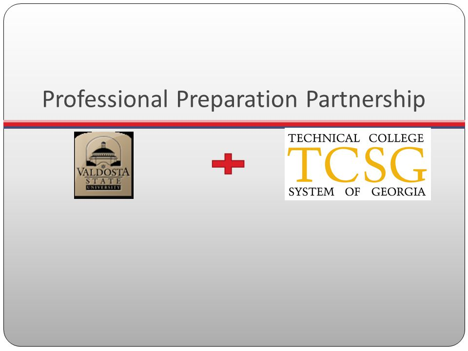 Professional Preparation Partnership
