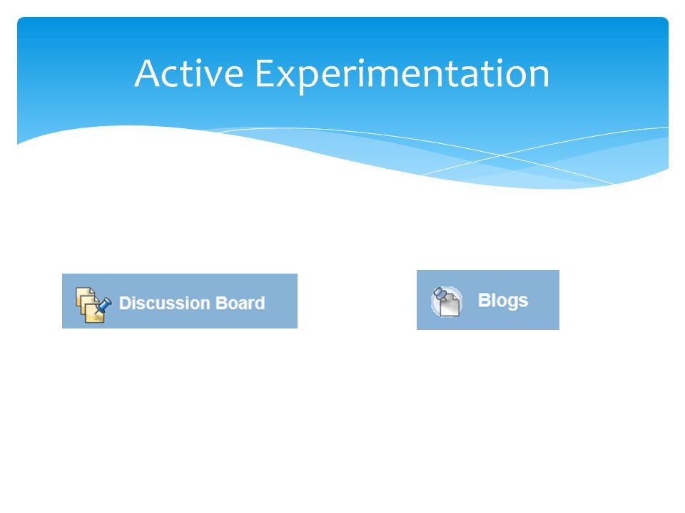 Active Experimentation