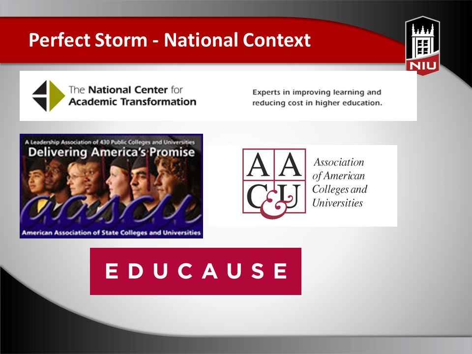Perfect Storm - National Context