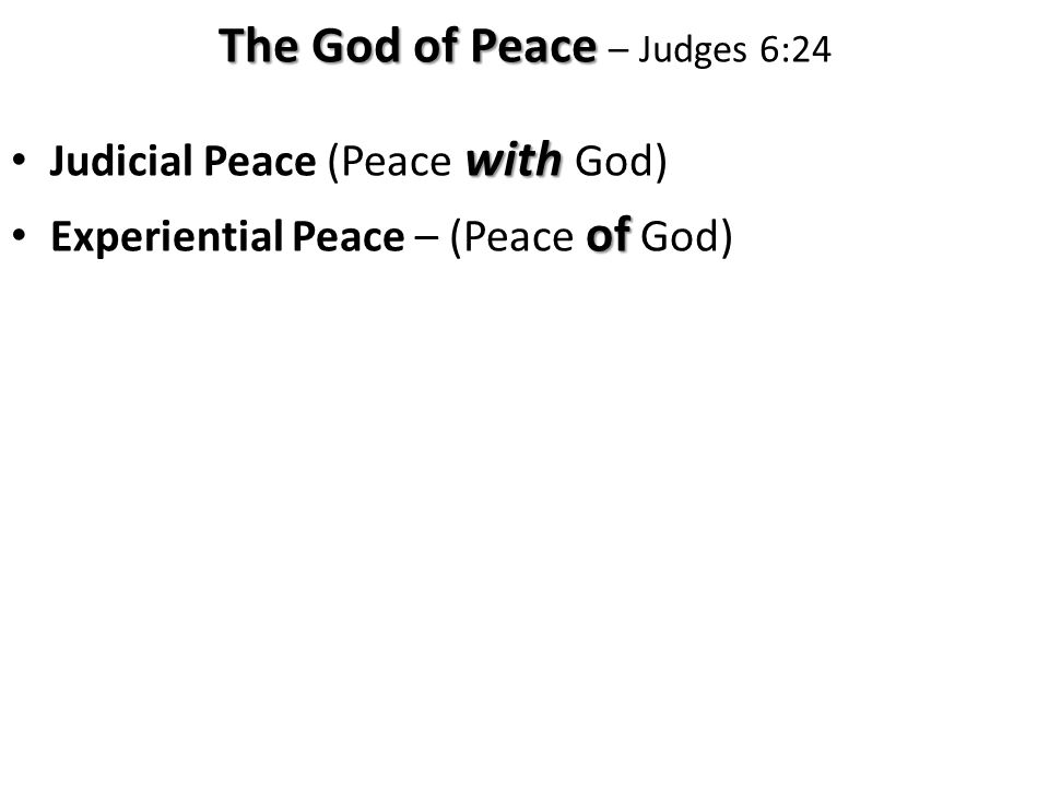 … the peace of God, which transcends all understanding, will guard your hearts and your minds in Christ Jesus.