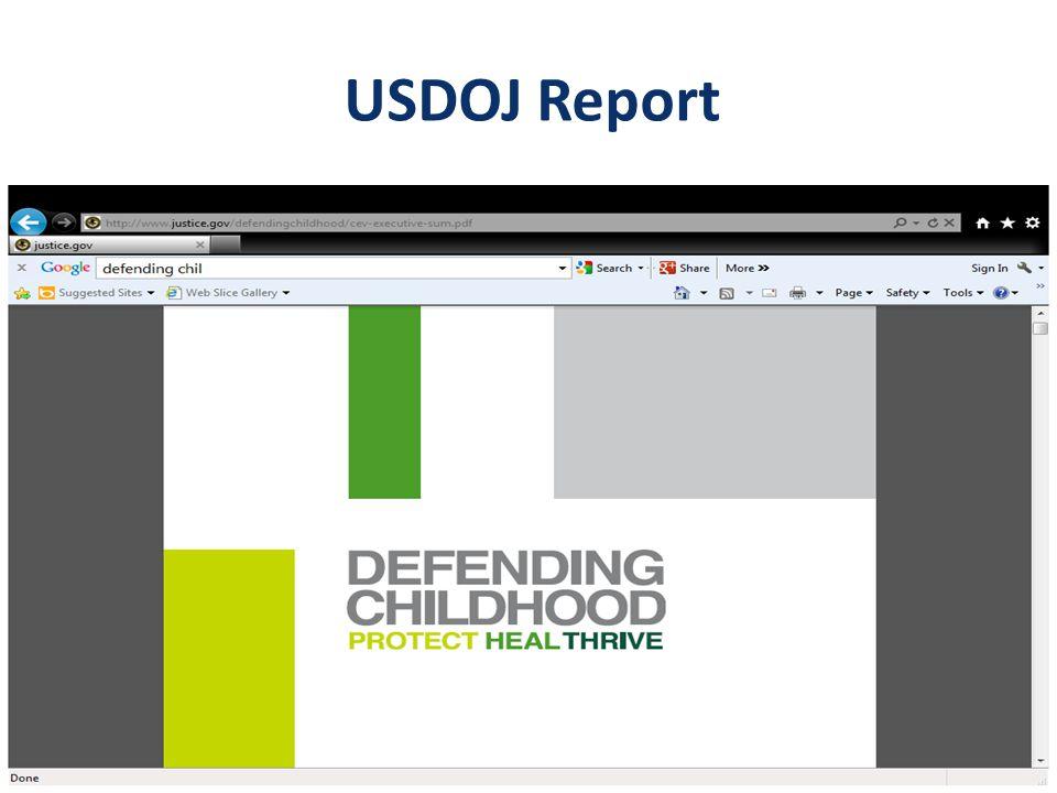 USDOJ Report