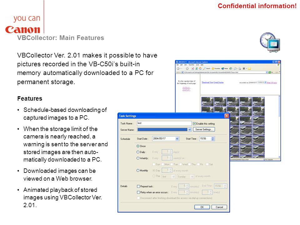 VBCollector: Main Features VBCollector Ver.