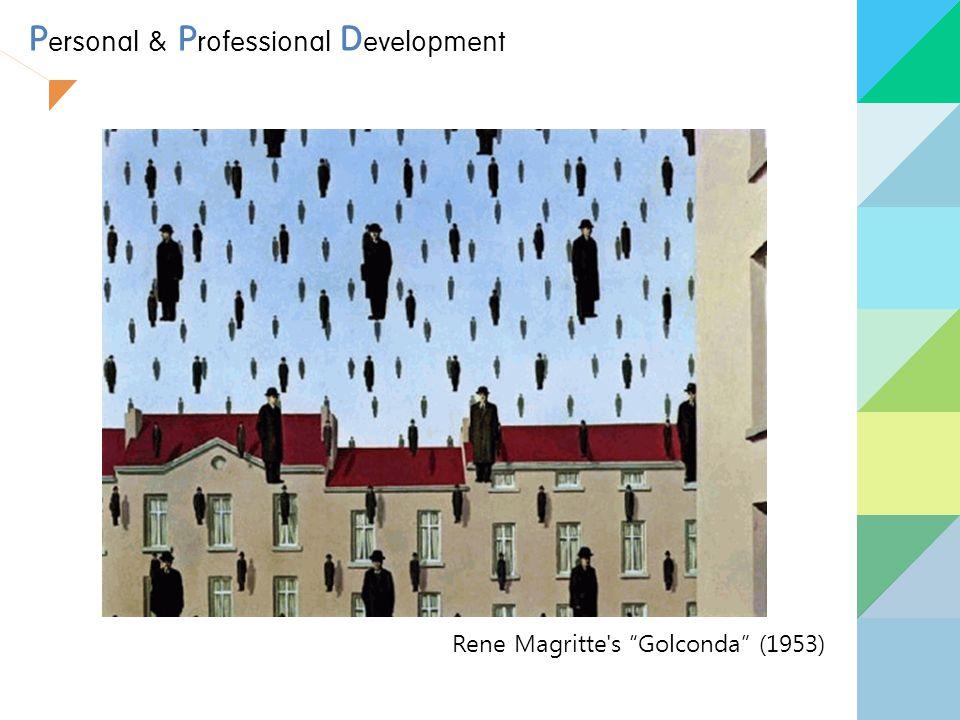 "P ersonal & P rofessional D evelopment Rene Magritte's ""Golconda"" (1953)"