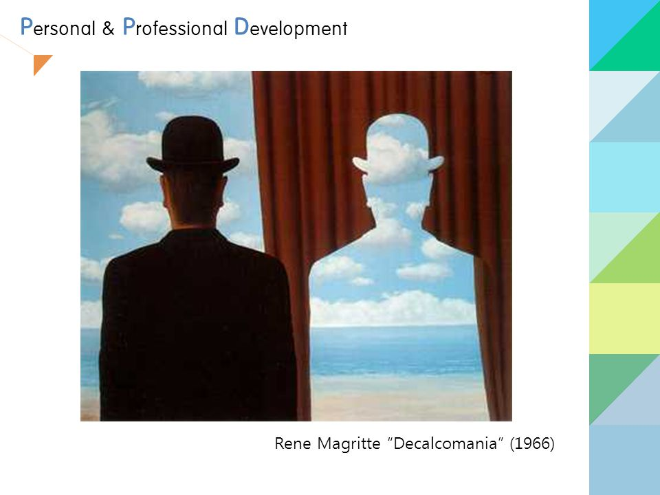 Rene Magritte Decalcomania (1966) P ersonal & P rofessional D evelopment