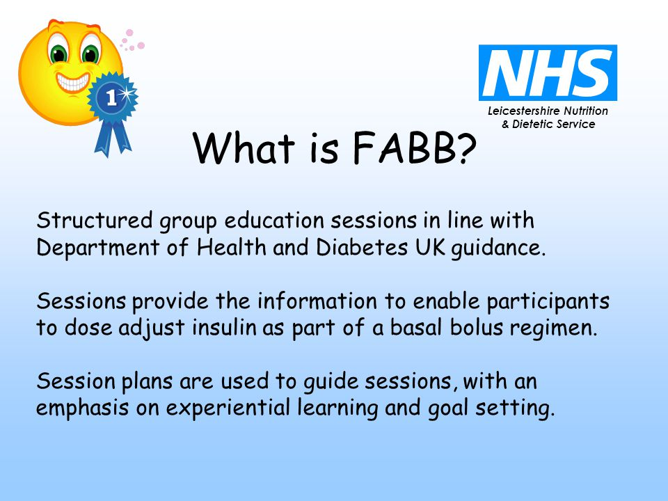 Leicestershire Nutrition & Dietetic Service What is FABB.