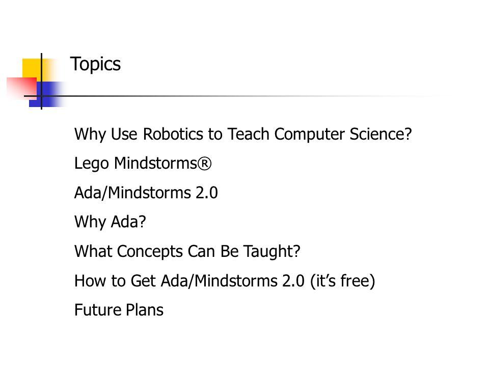 Why Ada.
