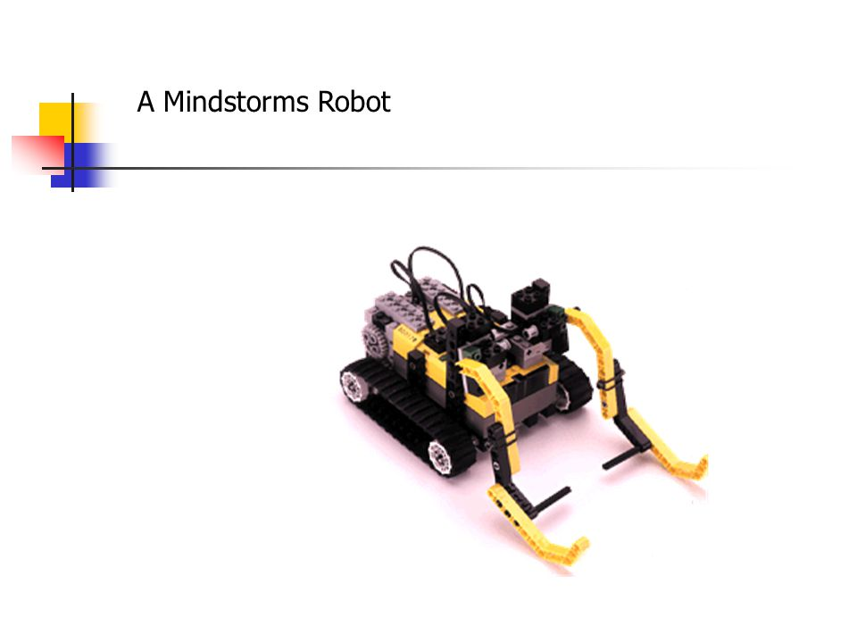 Some basic programming concepts easily demonstrated with an Ada/Mindstorms robot: User-defined procedures: procedure Shake is begin Output_On_Forward(Output => Output_A); Output_On_Reverse(Output => Output_B); Wait(Hundredths_Of_A_Second => 10); Output_On_Reverse(Output => Output_A); Output_On_Forward(Output => Output_B); Wait(Hundredths_Of_A_Second => 10); end Shake;