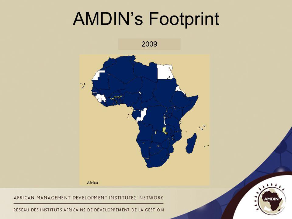 2009 AMDIN's Footprint