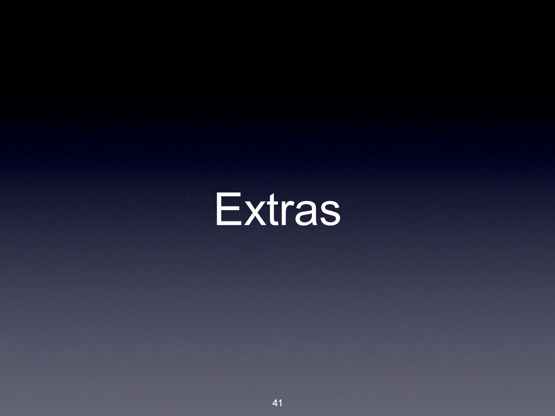 41 Extras