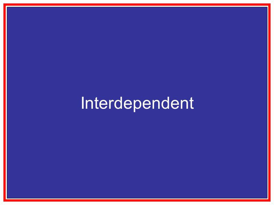 Interdependent