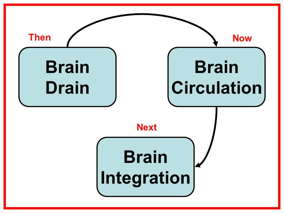 Brain Drain Brain Integration Brain Circulation Then Now Next