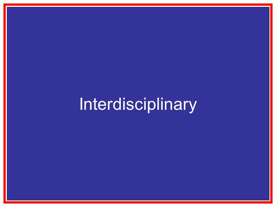 Interdisciplinary