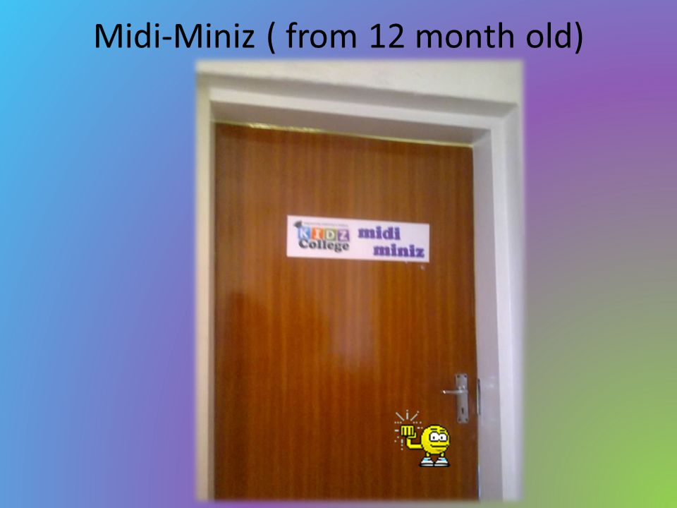 Midi-Miniz ( from 12 month old)