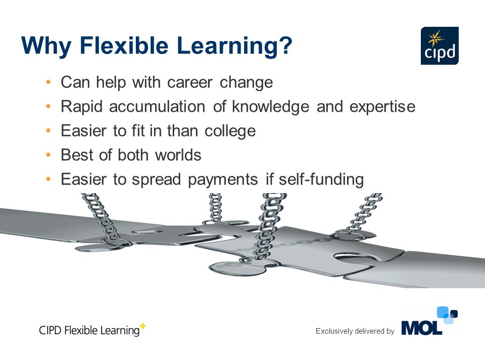 Why Flexible Learning.