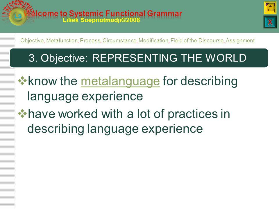 LS Liliek Soepriatmadji©2008 Ver P and participant roles  Verbal processes construe saying.