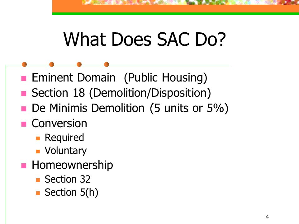 4 What Does SAC Do.