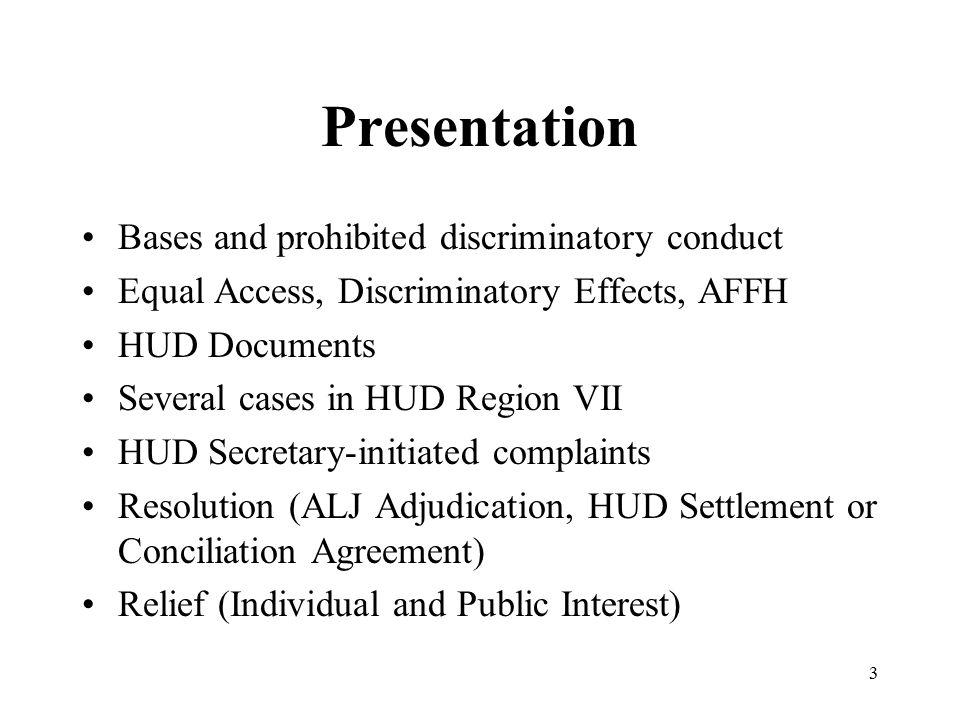 Familial Status Discrimination Case HUD (Potter) v.