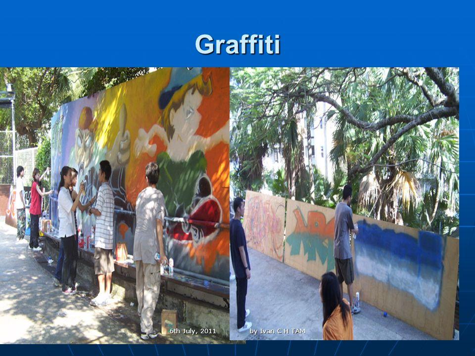 31 Graffiti 6th July, 2011 by Ivan C H TAM