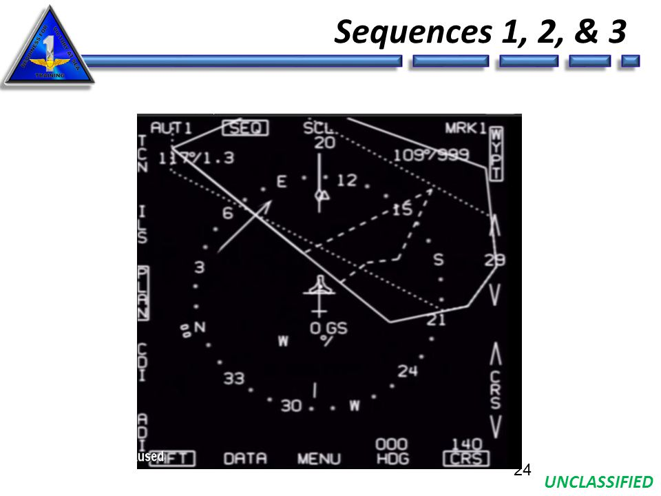 UNCLASSIFIED Sequences 1, 2, & 3 24