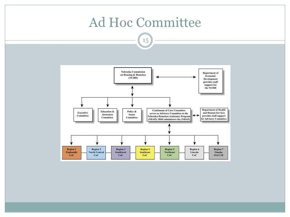 Ad Hoc Committee 15