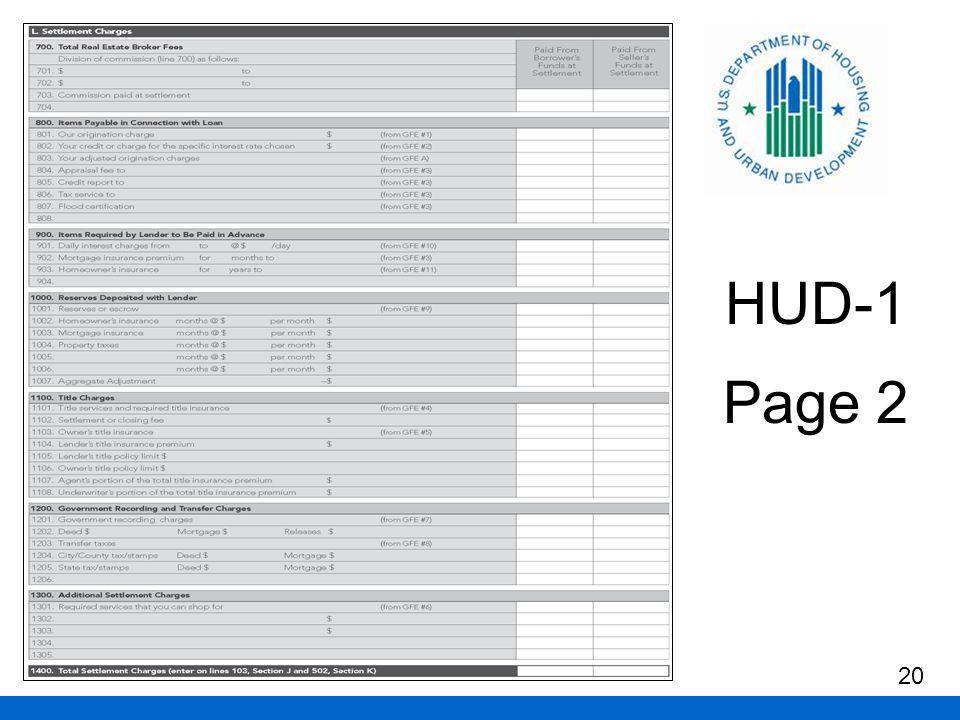 HUD-1 Page 2 20