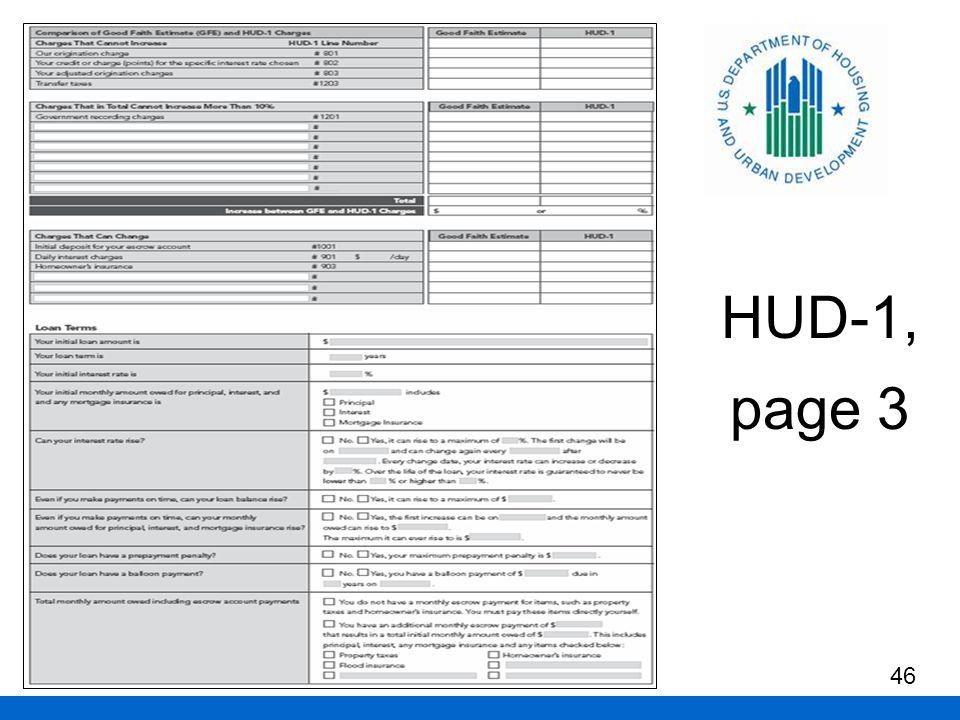HUD-1, page 3 46