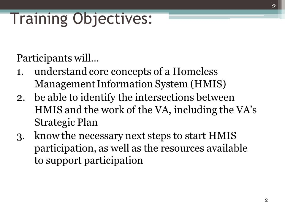 43 VA Plan for HMIS
