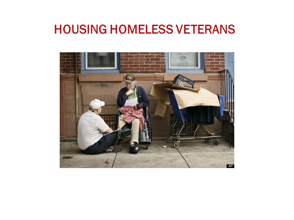 HOUSING HOMELESS VETERANS