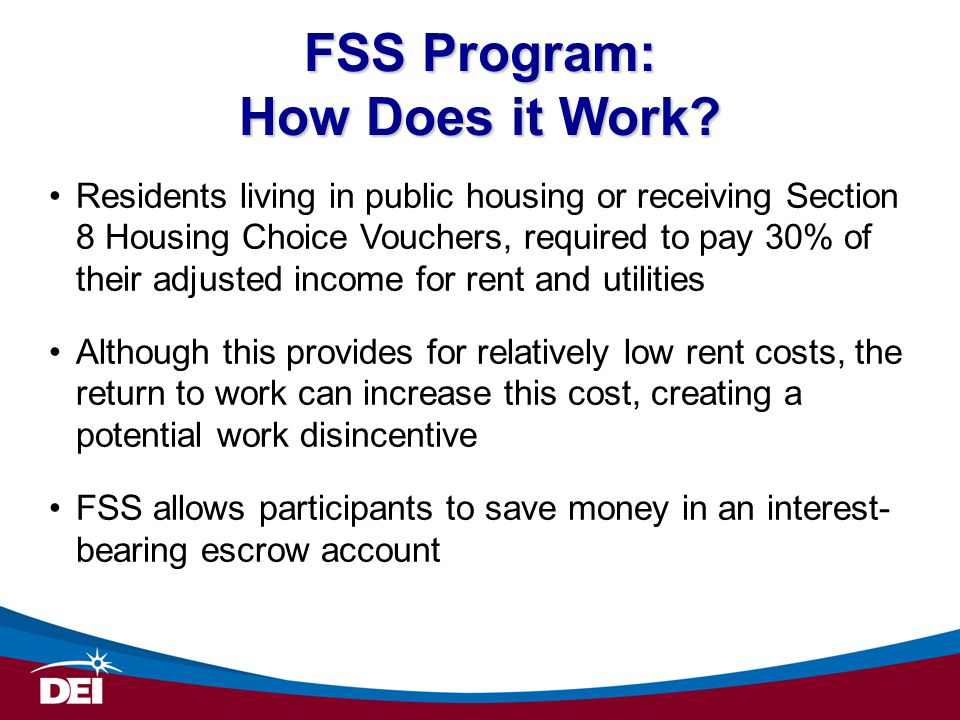 FSS Program: How Does it Work.