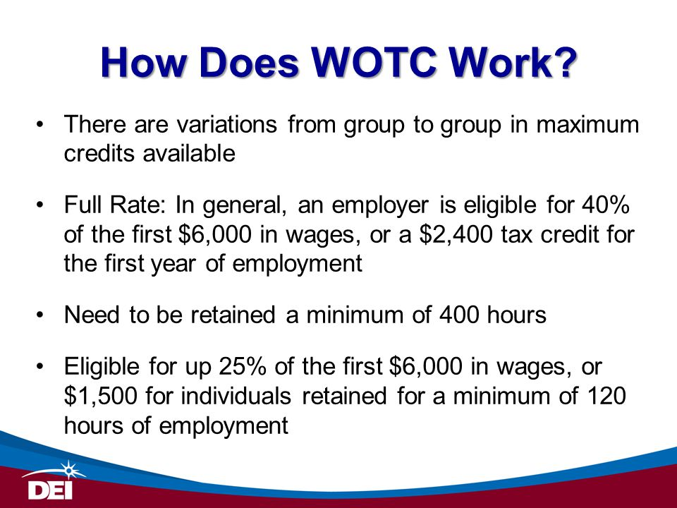 How Does WOTC Work.