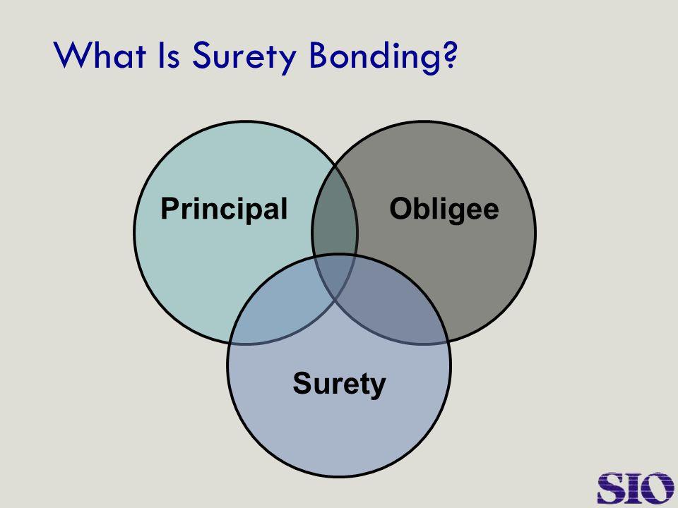 What Is Surety Bonding? Surety ObligeePrincipal