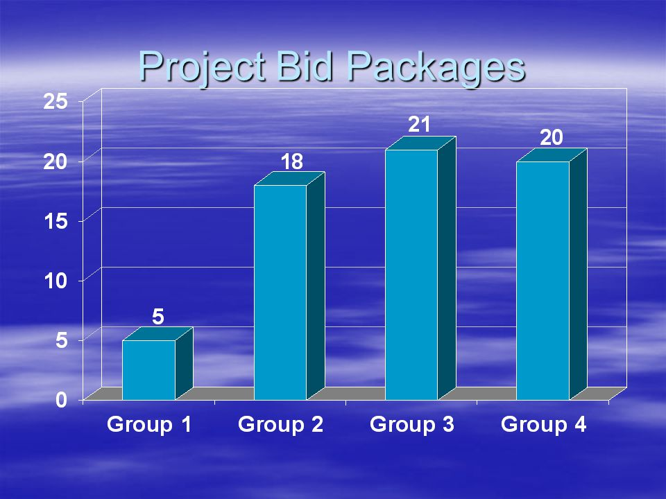 Project Bid Packages