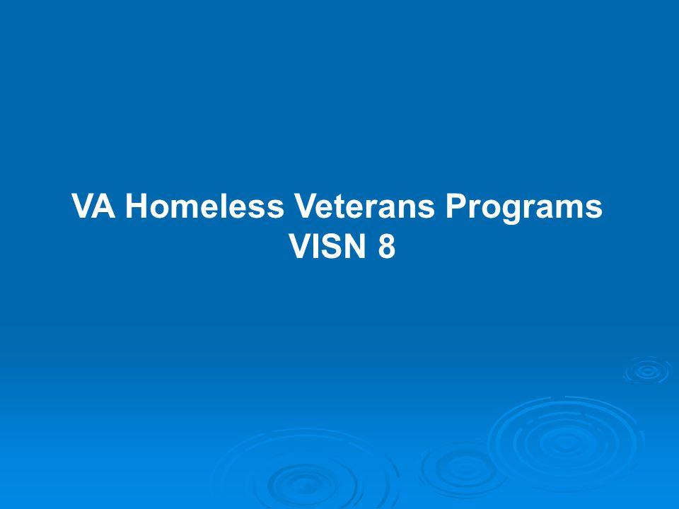 VA Homeless Veterans Programs VISN 8
