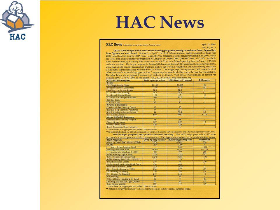 HAC News