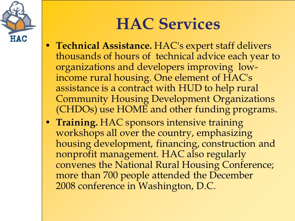Special Initiatives CHDO and HOME Technical Assistance Building Communities in the Lower Mississippi Delta Building Capacity in Colonias and Native American Communities Border Colonias Initiative Rural Capacity Building Initiative Rural Community Development Initiative
