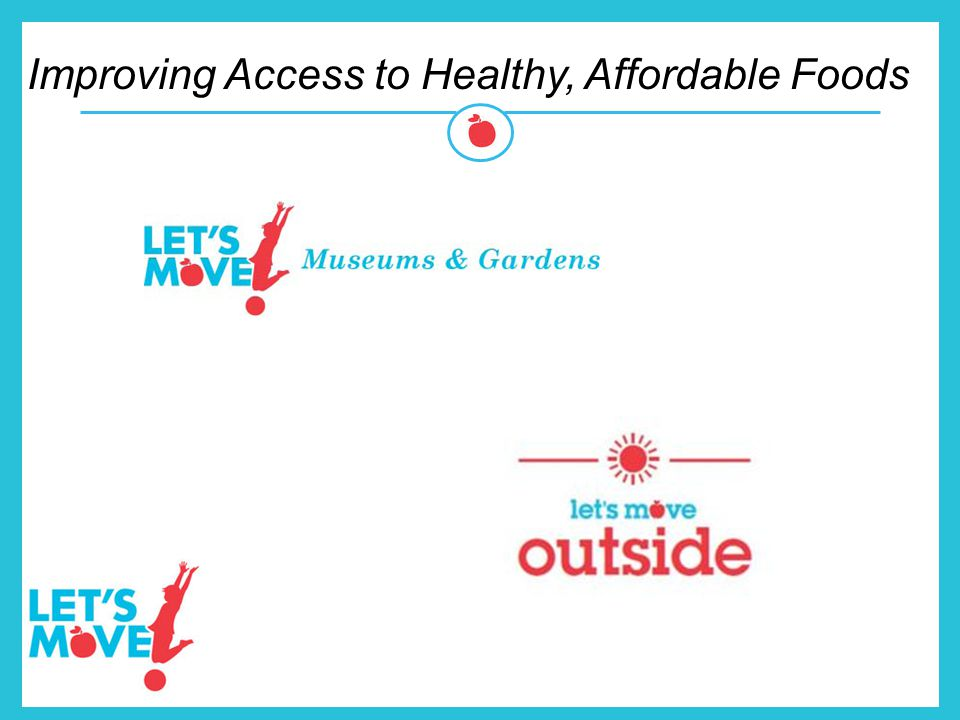 Improving Access to Healthy, Affordable Foods