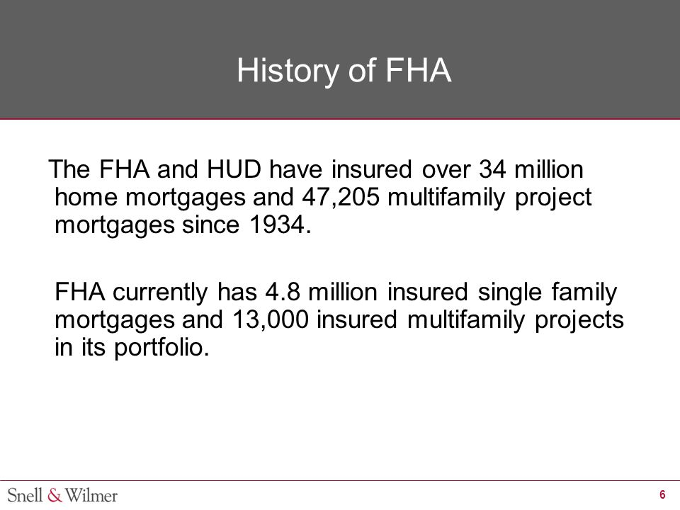 17 Closing the Equity Gap HUD/ FHA Financing  Section 234(d) – Mortgage Insurance for Construction or Substantial Rehabilitation of Condominium Developments.