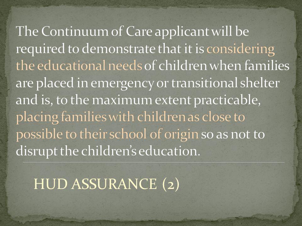 HUD ASSURANCE (2)