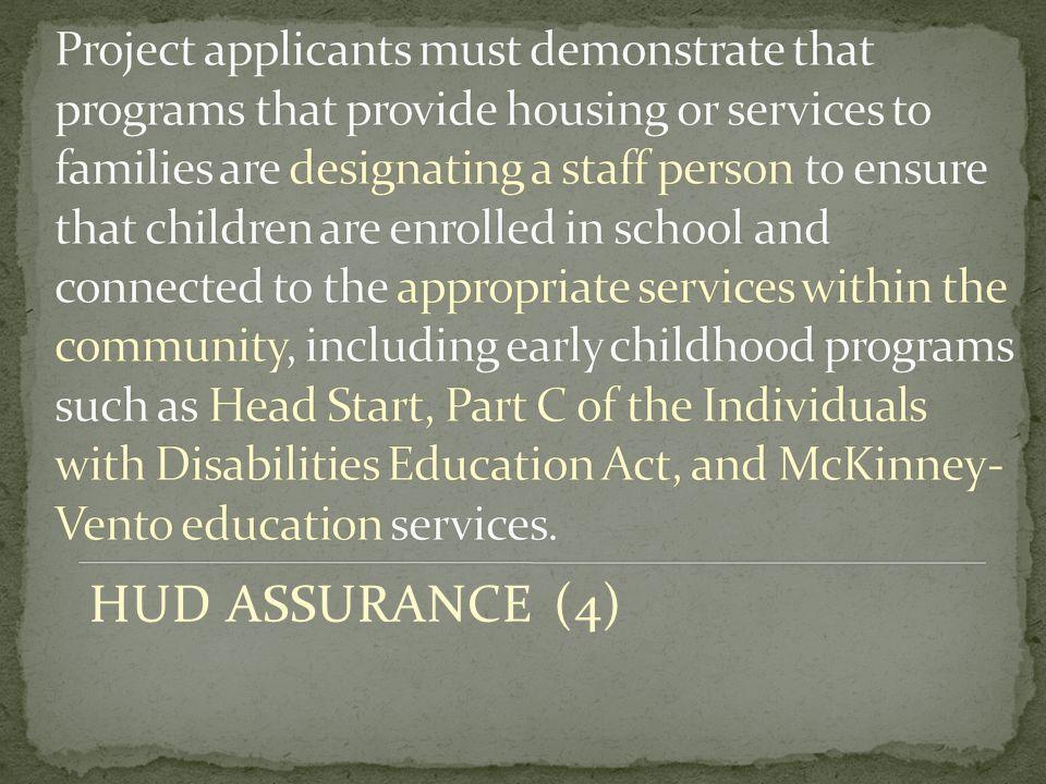 HUD ASSURANCE (4)