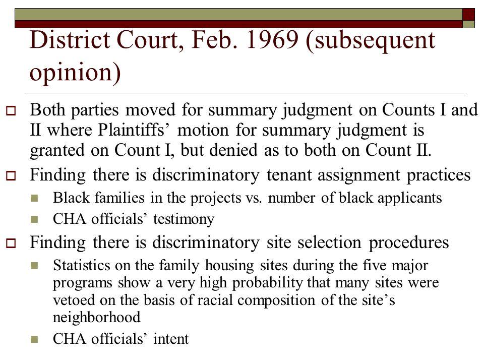 District Court, Feb.