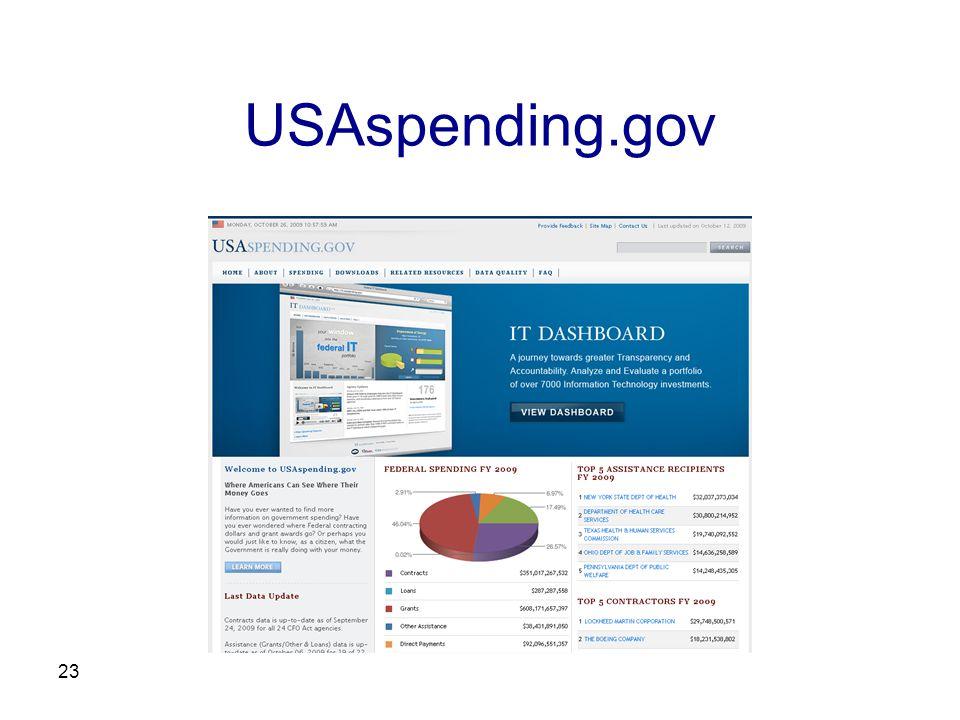 23 USAspending.gov