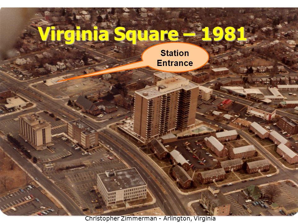 20 Virginia Square – 1981 Station Entrance Christopher Zimmerman - Arlington, Virginia