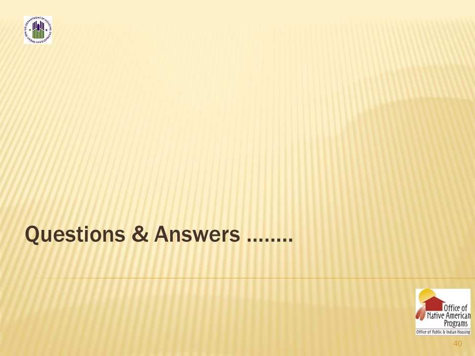 Questions & Answers …….. 40