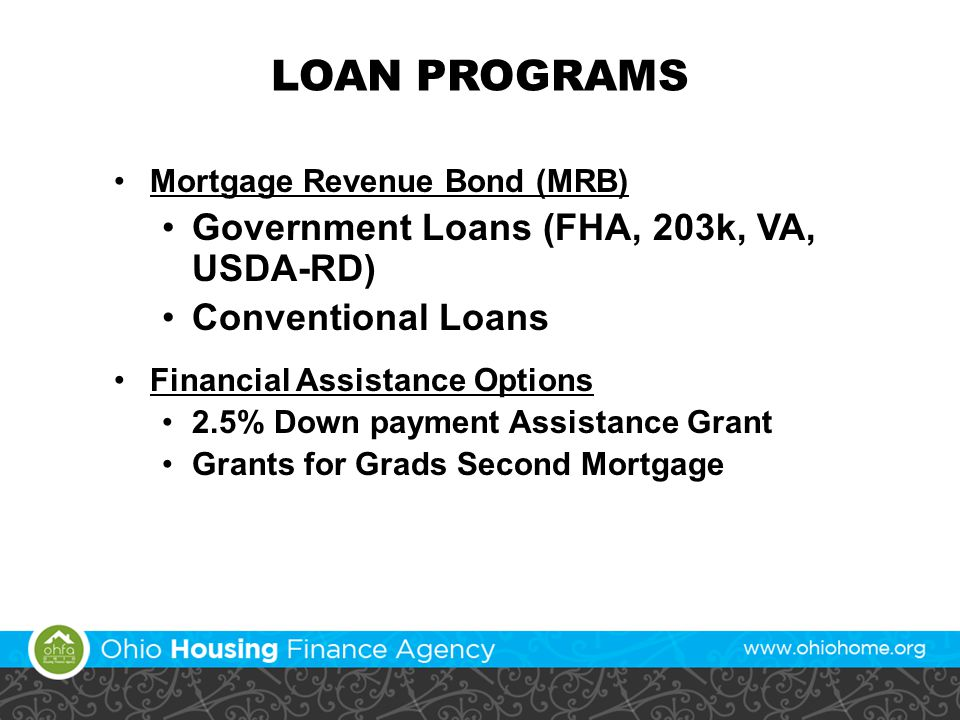 Ohio Housing Finance Agency Mortgage Credit Certificate (MCC) Program
